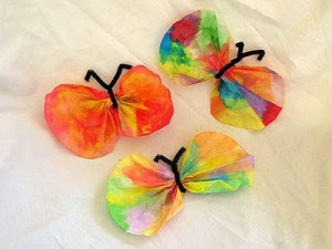 Coffee Filter Butterflies copy